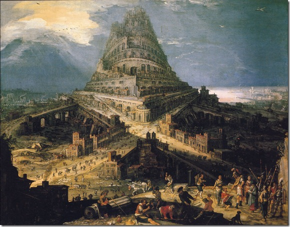 cleef construction of tower of babel