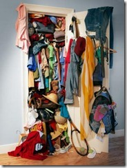 over-accumulate.Closet