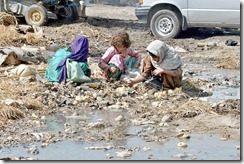 Poor Pakistani Children