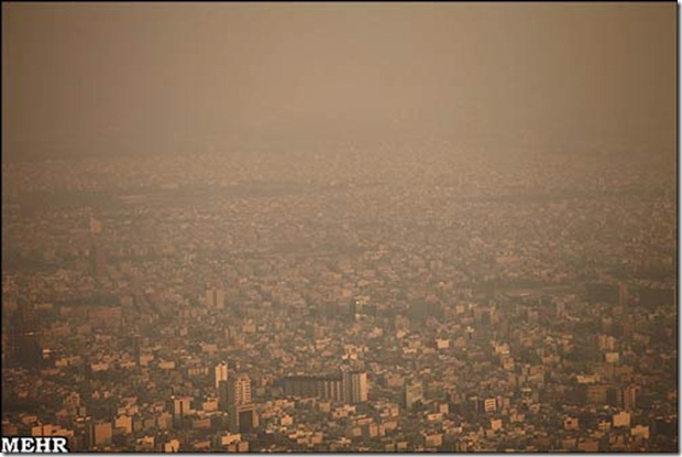 Tehran pollution 2