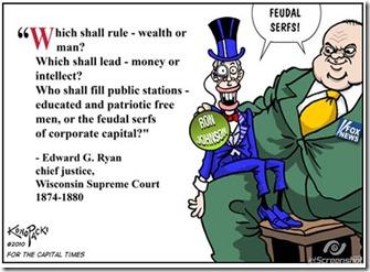 Corporate control Fuedelism