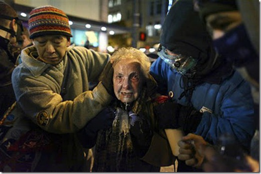 pepper spray 84 y-o occupy seattle 111511