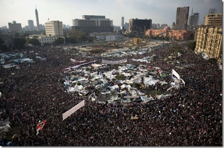 Tahrir Square, Day 16