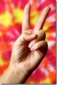 Peace Sign V-Fingers dreamstime_3940931