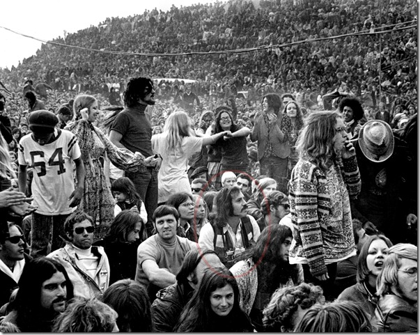 Robert Altman at Altamont 1969