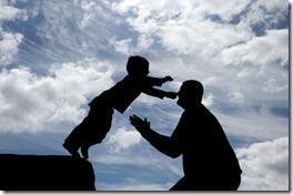 trust-father-sonboyjumpintomanshands